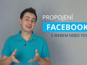 Propojení facebooku s webem