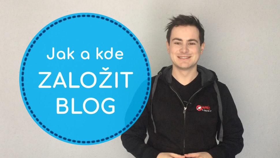 Jak akde si založit blog - Daniel Križák