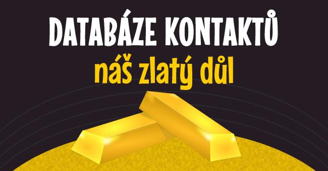 Databáze emailů - náš zlatý důl