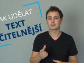 Jak upravit text na web