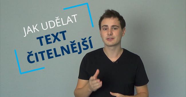 Jak upravit text naweb