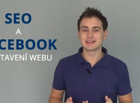 SEO a Facebook nastavení na webu