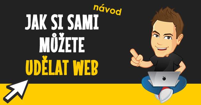 Návod jak si vytvořit web