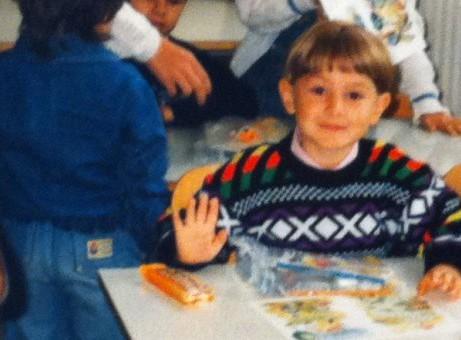 Daniel Križák v první třídě