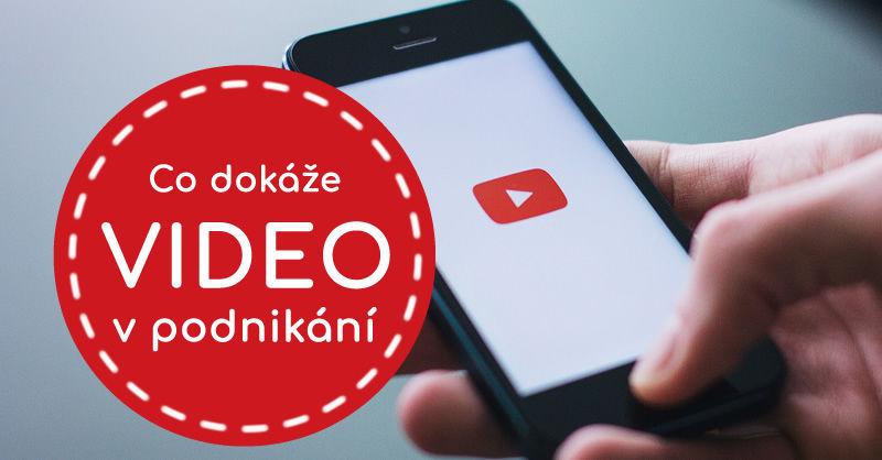 Video, vlogování aYouTube vpodnikání